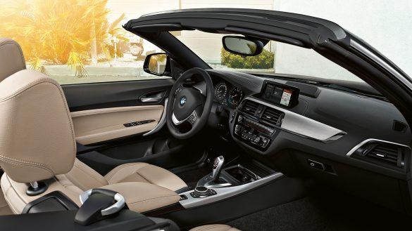 BMW 2er Cabrio Interieur