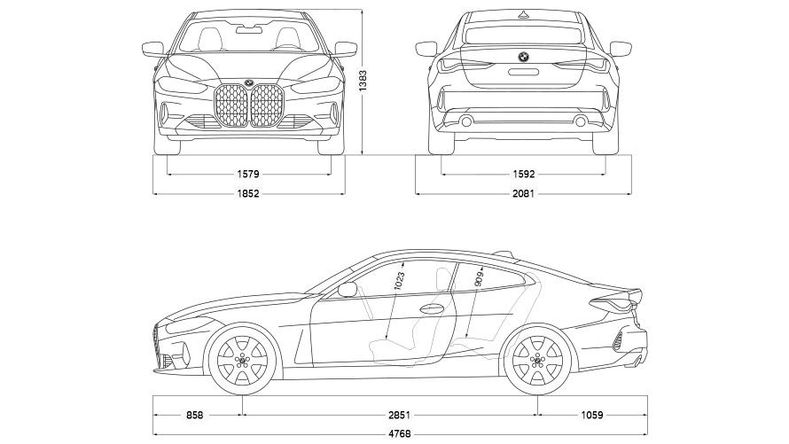 Technische Daten BMW 4er Coupé