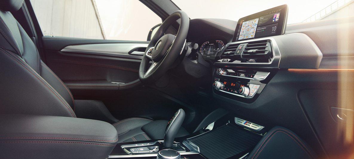 Hochwertige Innenausstattung BMW X4 G02 2018 Innenraum