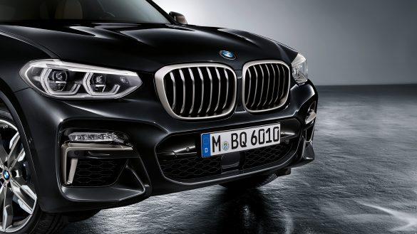 BMW X3 M Designelemente in der Signaturfarbe Cerium Grey