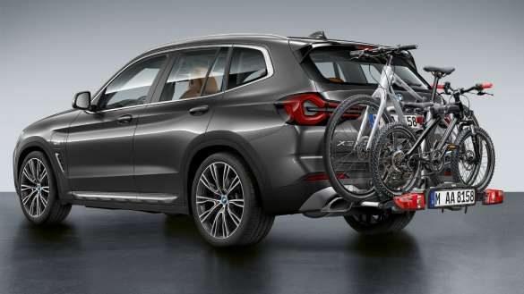 BMW X3 G01 2021 Fahrradheckträger Pro 2.0.