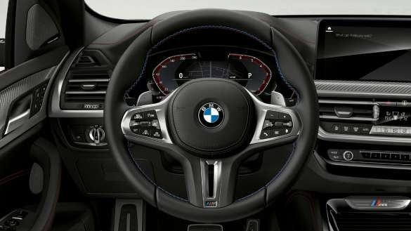 BMW X4 M40i M40d G02 LCI 2021 Facelift Variable Sportlenkung Cockpit