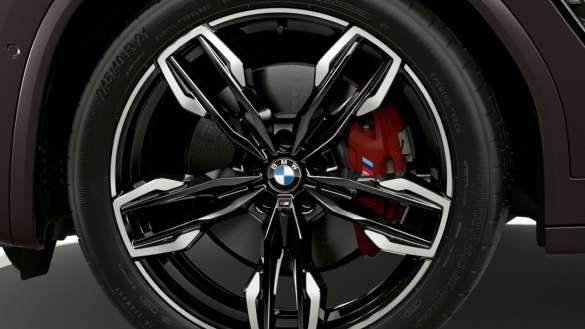 BMW X4 M40i M40d G02 LCI 2021 Facelift M Sportbremse Nahaufnahme