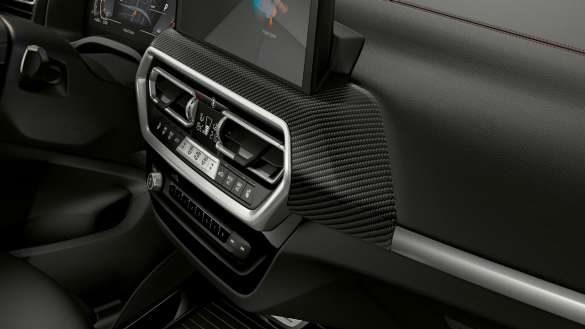 BMW X4 M40i M40d G02 LCI 2021 Facelift Interieurleisten 'Carbon Fibre'