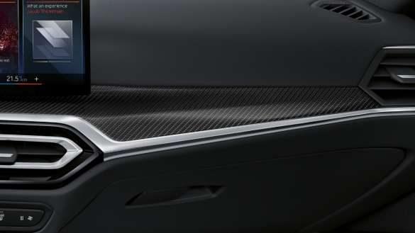 M Interieurleisten Carbon BMW i4 M50 G26 2021 Innenraum Cockpit
